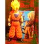 Muñecos Goku Super Sayayin Anime De 40 Centimetros