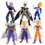 Dragon Ball Z Goku Vegeta Gohan Trunks Piccolo Figura 17 Cm