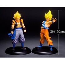 Goku Y Vegeta 20 Cm Figura Anime - Dragon Ball Z Picollo