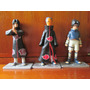 3 Figuras Itachi Sasuke Y Tobi De Naruto 11 Cms Base Pegada