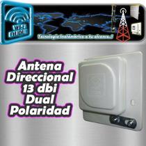 Antena Direccional 2.4ghz 13dbi Rp-sma Dual Wifi Internet