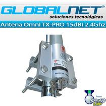 Antena Omnidireccional Tx-pro 15dbi 2.4ghz Bullet Hyperlink