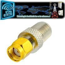 Pigtail Sma A F Rg6 Conector Adaptador Antena Wifi