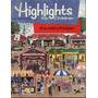 Revista En Ingles: Highlights For Childrem - 1987