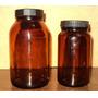 Muy Antiguo Y Coleccionable Frasco De Farmacia Color Ambar
