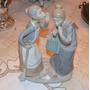 Inmensa Porcelana Lladro. Figura De Mujeres Conversando.