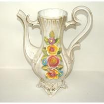 Florero De Porcelana Italiana Capodimonte