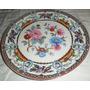 Plato Porcelanas Victoria Hermosas Flores
