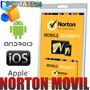 Software Norton Movil Security 2013 Tablets Celular Antirobo