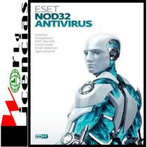 Licencia Eset Nod32 Antivirus V8 1 Año X 1 Pc Windows