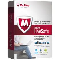 Mcafee Antivirus Livesafe Para 1 Pc