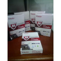 Antivirus Mcafee Para Pc Laptop Tablet Celular A La Vez