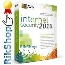 Antivirus Avg 2016 Internet Security Licencia Por 3 Años