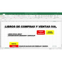 Libros De Compras Y Ventas Iva,oficial Seniat