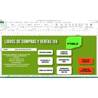 Libros Compras Y Ventas Iva,en Excel