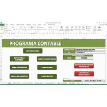 Programa Contable,en Excel