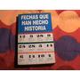 Libro Fechas Que Han Hecho Historia 320 Pag Resumen Excelent