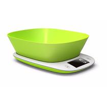 Balanza Digital Para Alimentos, Verde Electric