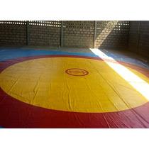 Lona De Lucha Original Ojump Para Competencia Y Entrenamient