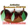 Juego De Frutas Decorativas Talladas En Madera