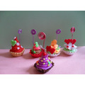 Masa Flexible Cup Cake- Ponquesitos. Porta Mensajes O Fotos