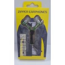 Audífonos Zipper Tipo Cierre. Somos Tienda Física!