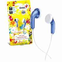 Audifonos Genius Ghp-200v Estéreo Mp3, Iphone, Ipod