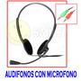 Audifonos Con Microfono Headset Mayor Y Detal.!!!