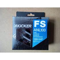 Fusible Termico Kicker 100amp ( 2 Unidades ) .