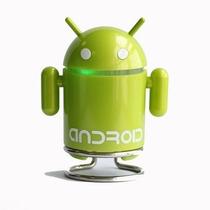 Corneta Portatil Robot Android Radio Fm Lee Memoria Micro Sd