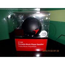 Speaker Recargable Sp-i300 Negro Genius
