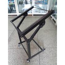 Rack Dj 9u Sonido Profesional Metalico Con Ruedas 100%nuevo