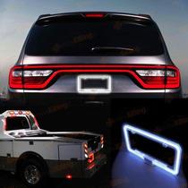 Porta Placa En Luz De Neon Para Carro Camioneta Camion 12v