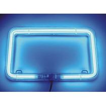 Porta Placas Para Vehículos Con Luz Neon Myp