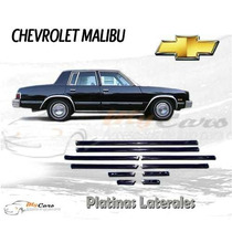 Juego De Platinas Malibu 77-86