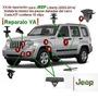 Ganchos Clips Para Jeep Chrysler Dodge. 10 Unidades