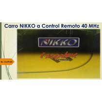Carro Nikko Imayhem Contro Remoto 40 Mhz Veloz Nuevo