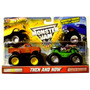 Then And Now - Hot Wheels Grave Digger - Monster Jam - Vlf
