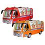Estupendo Bus Grande Luces Sonidos Pantalla Digital Giros