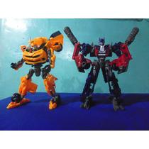 Carro Transformers Deception Optimus Bumblebee Barricade