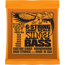 Cuerdas Bajo Ernie Ball 6 Cuerdas Long Scale Slinky Bass