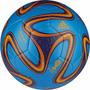 Balón Fútbol Adidas #5 Brazuca Glider Azul Modelo G73630