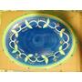 Bandeja De Ceramica Pintada De 18