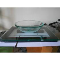 Lavamanos Moderno De Vidrio Transparente