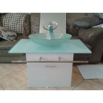 Mueble Lavamanos Y Espejo Moderno Para Baño