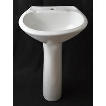 Lavamanos Con Pedestal Color Blanco Venceramica