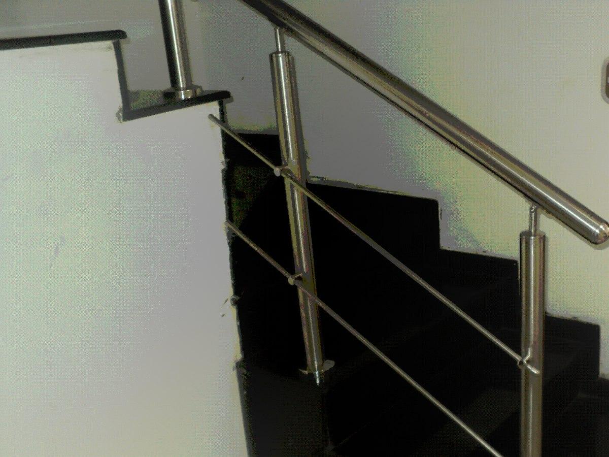 Pin pasamanos barandas acero inoxidable vidrio templado - Pasamanos de acero ...