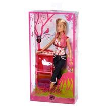 Barbie Camping