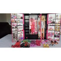 Closet Barbie Fashionista Original. Importado