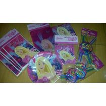Barbie. Combo Para Fiesta De Barbie